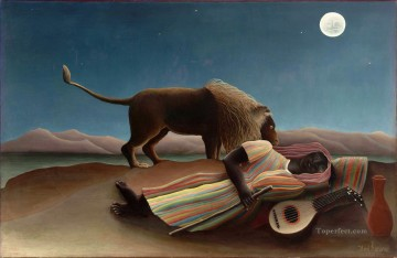 Sleeping Art - Henri Rousseau The Sleeping Gypsy